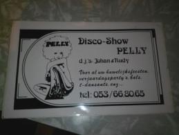 Disco Show Pelly Huwelijksfeesten Verjaardagsparty T-dansant - Autocollants
