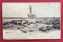 URUGUAY MONTEVIDEO STAFFETTA TERRESTRE  1904 - Voile