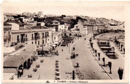7122. CPA MAROC. TANGER. AVENUE D´ESPAGNE. ECRITE 1935 - Tanger