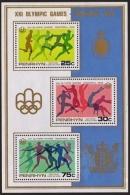 Penrhyn, 1976, Olympic Games Montreal, MNH, Michel Block 3 - Penrhyn