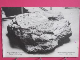 29 - Penmarch - Musée Préhistorique - Grand Polissoir Néolithique Pesant 4 700 Kgs - Scans Recto-verso - Penmarch