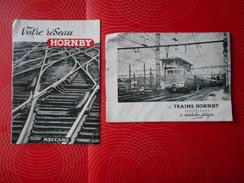 Trains électriques--Meccano, 2 Livrets Hornby - Otros