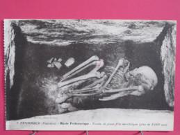 29 - Penmarch - Musée Préhistorique - Tombe De Jeune Fille Du Néolitique - Scans Recto-verso - Penmarch