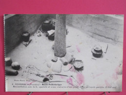 29 - Penmarch - Musée Préhistorique - Reconstitution Avec Lec'h D'une Nécropole Gauloise - Scans Recto-verso - Penmarch