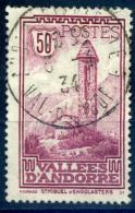 ANDORRE FRANCAIS 1932  N° 35 OBLITERE - Usati