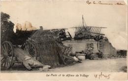 CYS LA COMMUNE (02) La Poste Et La Défense Du Village - Guerre 14/18 - La Poste Détruite - Carte Postée - Frankrijk