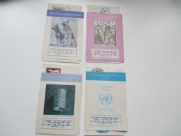 Oficina Filatelica Mexicana 1974 FDC / Sonderblatt Edificio De Correos 1a De Tacuba No1. 4 Stück!! - Mexiko