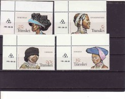 Transkei 1981, Mint,   TRADITIONAL HEADRESS - Transkei