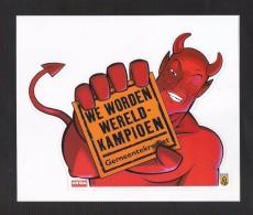 GEMMEENTEKREDIET  We Worden Wereldkampioen  (S 594) - Stickers