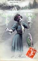 Portrait D Homme 1908 (LOT AC25) - 1er Avril - Poisson D'avril