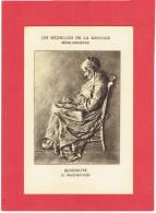 MEDAILLE DE LA MONNAIE BENEDICITE GRAVEUR G. PRUD HOMME CARTE POSTALE EN BON ETAT - France
