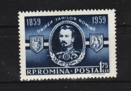 1959 - A.I.CUZA  Mi No 1763 Et Yv No 1618 MNH - 1948-.... Republiken