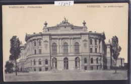 Warszawa - Politechnika - Ca 1912 (13´943) - Pologne