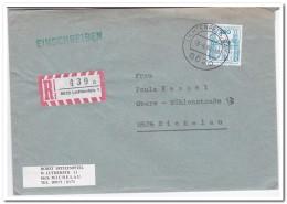 Brief Lichtenfels-Michelau Einschreiben Mit Inhalt. - Brieven En Documenten