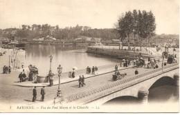 BAYONNE - Vue Du Pont Mayou Et La Citadelle - LL 7 - Non Circulée - Tbe - Bayonne