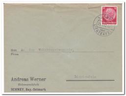 Brief Schney über Lichtenfels 25.7.40. - Briefe U. Dokumente