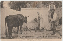 FONTAINE HISTORIQUE à CANDIE (CRETE / GRECE) - Grecia