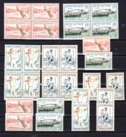 Jeux Traditionnels, 7X  1161 / 1164**, Cote 70 €, - France