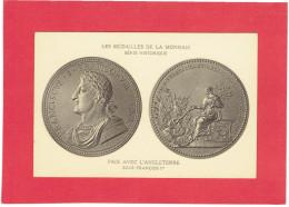 MEDAILLE DE LA MONNAIE PAIX AVEC L ANGLETERRE SOUS FRANCOIS I EN 1519 CARTE POSTALE EN BON ETAT - Royaux / De Noblesse