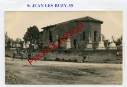SAINT JEAN LES BUZY-CARTE PHOTO Allemande-Guerre 14-18-1 WK-FRANCE-55- - France