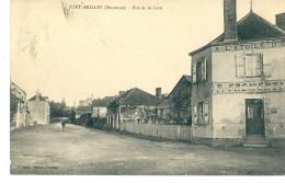 CPA 53 PORT BRILLET RUE DE LA GARE A L'ETOILE D'OR - Francia