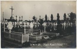 "Wervik Belgique : Carte Photo Cimetière  Guerre 14/18 "" Wervik Het Kerkhof "" - Wervik"