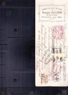 Billet à Ordre Fabrique De Jouets De Plage à Trouville-sur-Mer (Icalvados) En 1914 - 1900 – 1949
