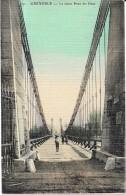 GRENOBLE - 38 -   CPA COLORISEE  - Le Vieux Pont Du Drac - VAN - - Grenoble