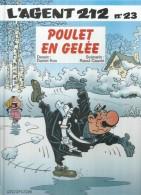 """L´AGENT 212  """" POULET EN GELEE """"  - KOX / CAUVIN  - E.O.  FEVRIER 2003 - DUPUIS - Agent 212, L'"""