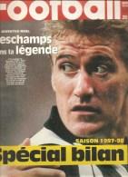 Football France Football N°2719 Du 19 Septembre 1998 Deschamps Dans La Légende Saison 1997-1998 Spécial Bilan - Sport