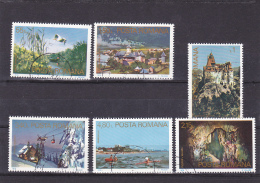# 173 TOURIST ATTRACTIONS, 1978, Mi 3523/29,  STAMPS ,FULL SET, ROMANIA - 1948-.... Republieken