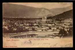 ITALIA INTRA PANORAMA  CARTOLINA Vintage Original Ca1900 POSTCARD CPA AK (W4_3197) - Sin Clasificación