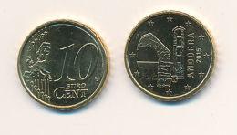 Andorra 2015 - ORIGINAL Amtliche 10 Cent Kursmünze - Stempelglanz Aus KMS - Vatican