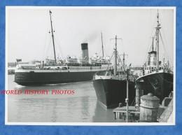 Photo Ancienne - BOULOGNE Sur MER - Bateau CANTERBURY Au Port - Bateau De Pêche à Quai - Pas De Calais - Barche