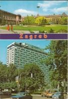 Zagreb-edifice-parc-cpm - Yugoslavia