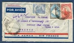 Argentine - Enveloppe En Recommandée De Buenos Aires Pour La France En 1939 - Réf. S 37 - Argentina
