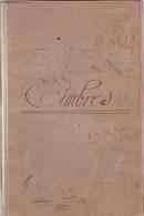 Album De Timbres Constitué De Chemises De Recettes Communes De La Dordogne-Eymet-Cogulot -Fonroque -Razac-Rouquette. - Albums & Reliures