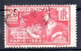 FRANCE   N°  184  Oblitere  Jo 1924