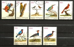 VATICANO  Uccelli Birds  Serie Completa  Usata - Vaticano