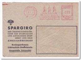 Lichtenfels 18 7 40, Kreissparkasse - Briefe U. Dokumente