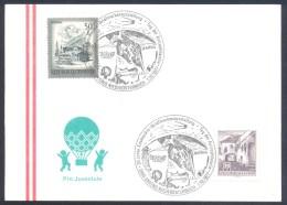 Austria Österreich 1977 Card: Space Weltraum Espace Sputnik Laika Hund Dog Chien; Gmünd 2 Cancellation - Space