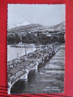 Geneve / Genf (GE) - Pont Du Mont Blanc / Autos / Schiff Vevey - GE Ginevra