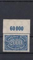 Reich Michel Kast.Nr. Postfr/** 253b POR - Germany