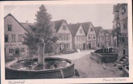 Allemagne Biedenkopf, Hesse, Macktplatz (7.1.28) - Biedenkopf