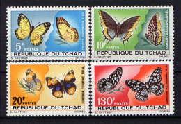 TCHAD  -  137/140* - PAPILLONS - Tsjaad (1960-...)