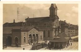 Schweiz, 1925, Bern Bubenbergplatz Mit Heiliggeistkirche Nach Steffisburg, Siehe Scans! - Switzerland