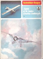 "Maquette Avion "" Spirit Of Saint-Louis"" - Marque SCHREIBER-BOGEN ( JFS ) - Carton / Lasercut"