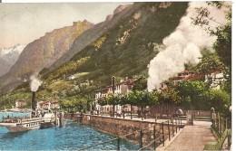 Schweiz, 1915, Capolago, Debarcadero E Statione Della Ferrovia, Battaillon 23 Feldpost Nach Steffisburg, Siehe Scans! - Switzerland