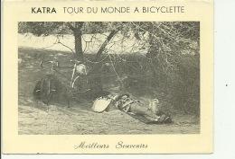 Antony Michel Briquet Katra Tour Du Monde à Bicyclette ( à Vélo ) Etape Au Sénégal - Antony