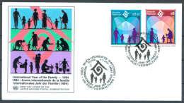 UN FDC - WE 1994 01 - Internationales Jahr Der Familie - FDC